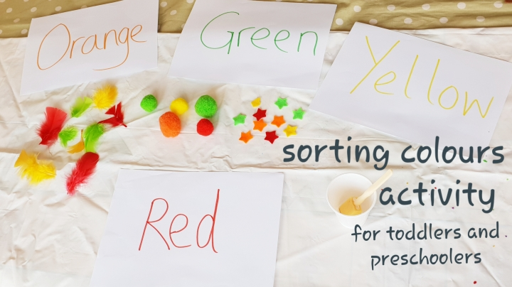 Fun Colour Sorting Activity for Young Kids