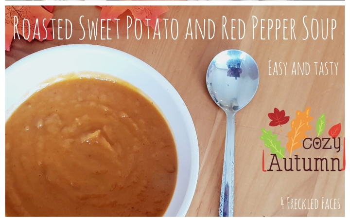 Roasted Sweet Potato and Red Pepper Soup
