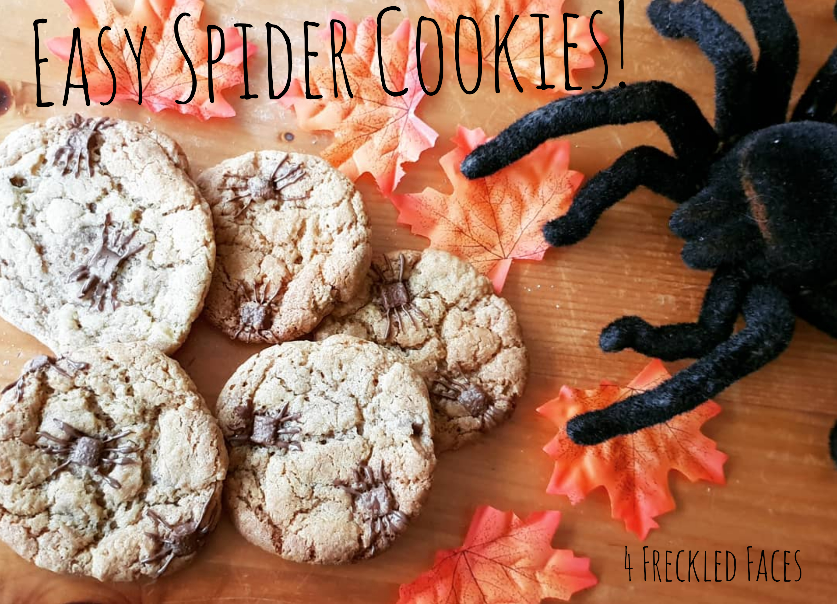 Reblog: Spider Cookies — 4 Freckled Faces