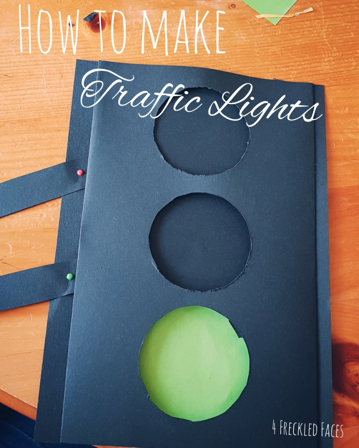 DIY Traffic Lights Craft for Kids