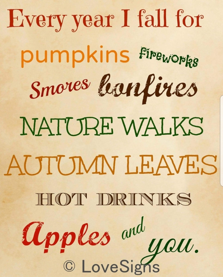5 Reasons To LOVE Autumn!