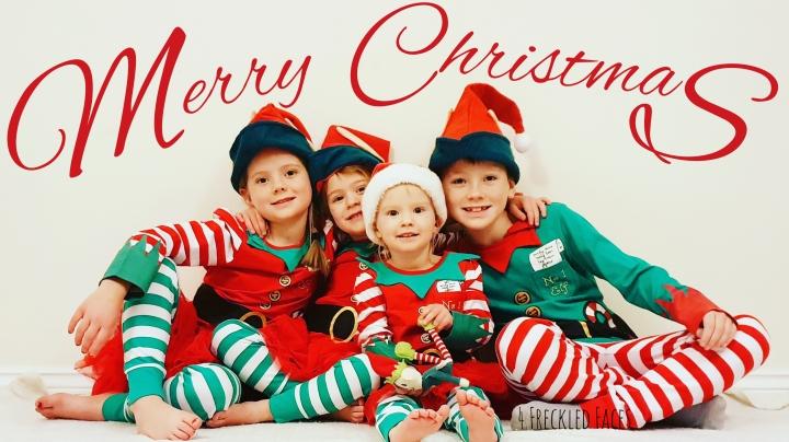 Freckled Face Friday – Christmas! Christmas!Christmas!