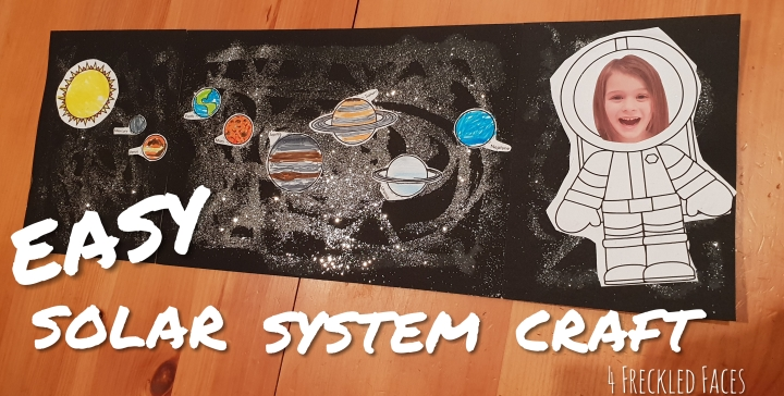 Easy Solar System Craft!