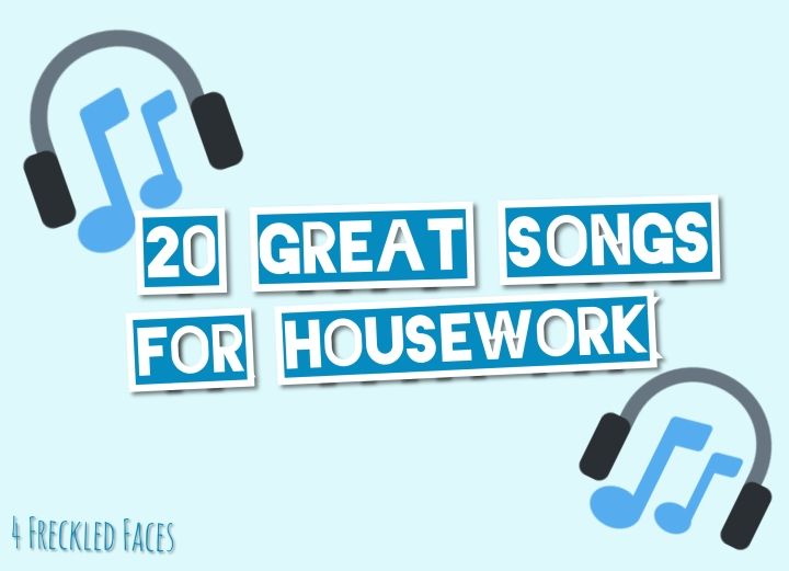 20 GREAT Songs for Housework!