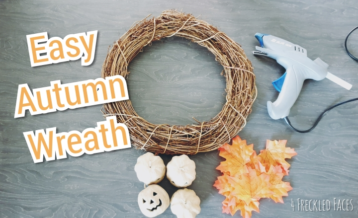 How to Make an Easy Autumn Wreath