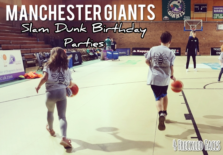 Manchester Giants Slam Dunk Birthday Parties