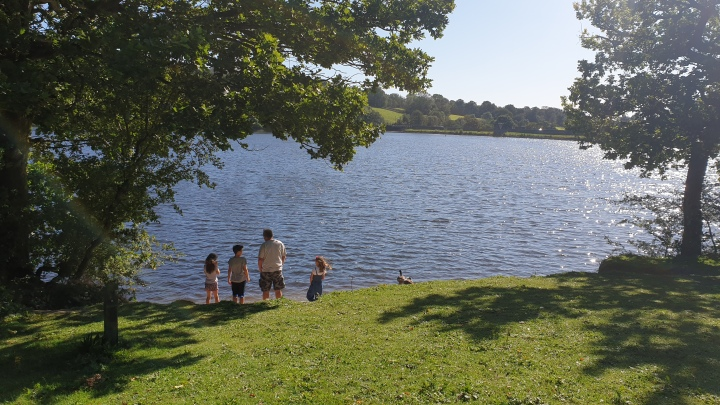 Greenway bank country park. Lake. Trees. Scenic walks in Stoke-on-Trent. 4 Freckled Faces.