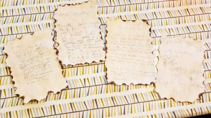 VE day. WWII letters. VE diary entry. 4 Freckled Faces.