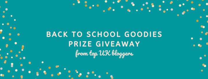 Back to School Prize Giveaway!