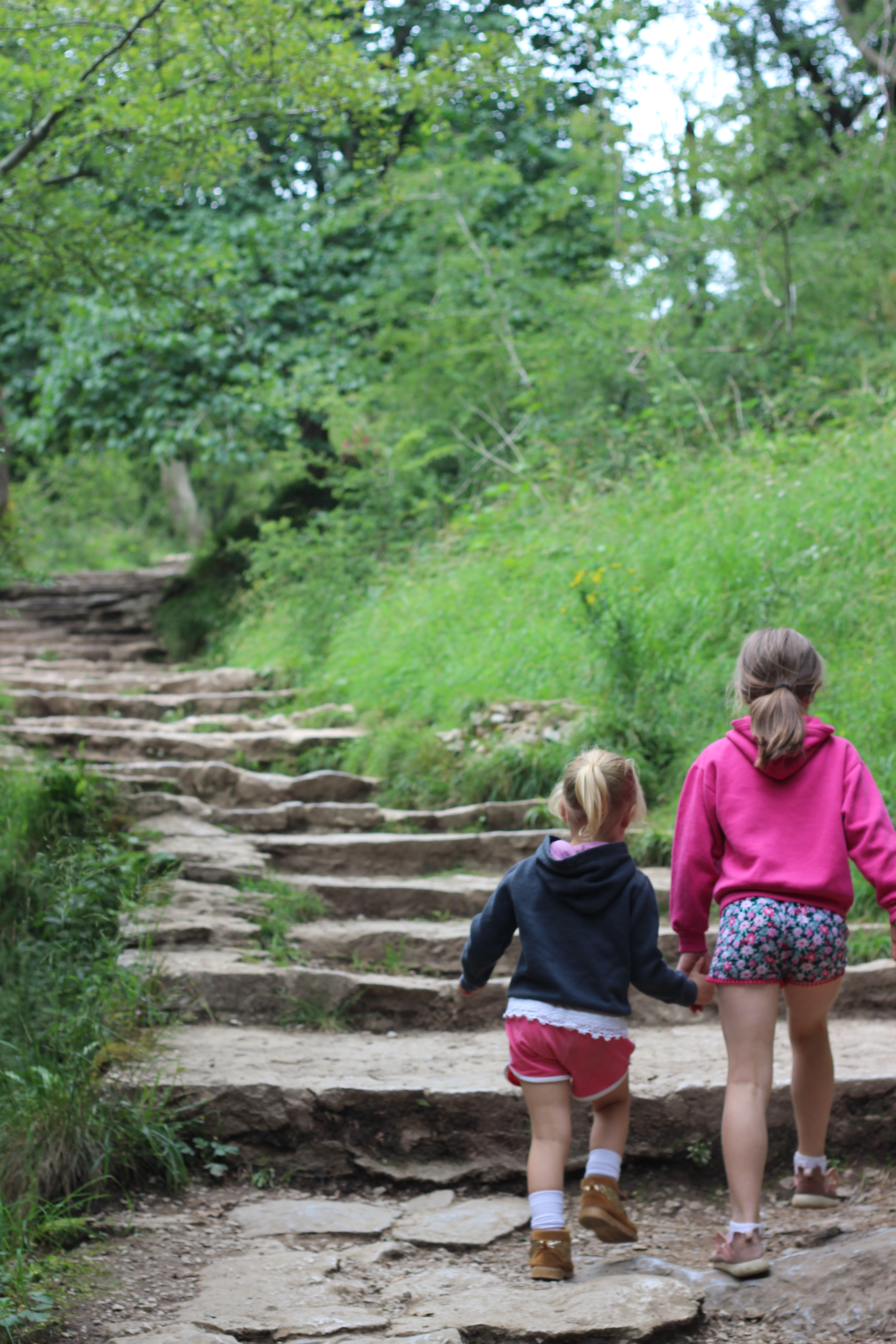 dovedale. england. 4 freckled faces.