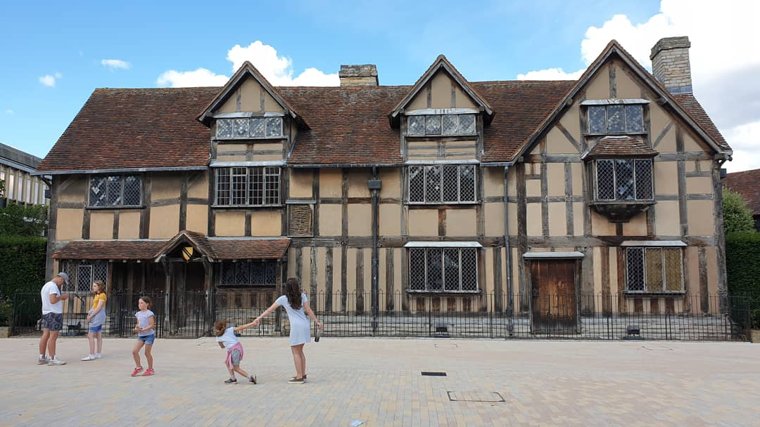 William Shakespeare's childhood home. Stratford-upon-Avon. England. 4 Freckled