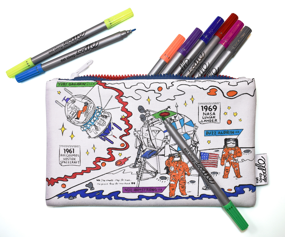 space explorer pencil case eatsleepdoodle