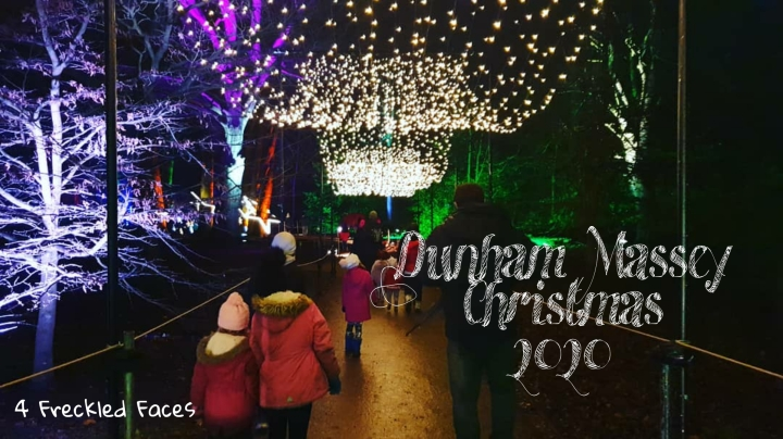 Dunham Massey Christmas Lights 2020
